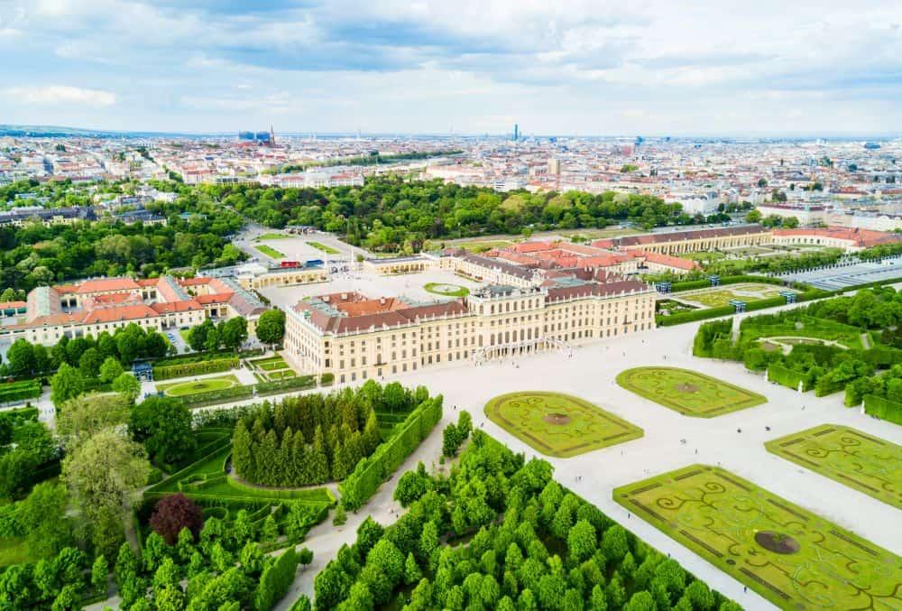 parc schonbrunn