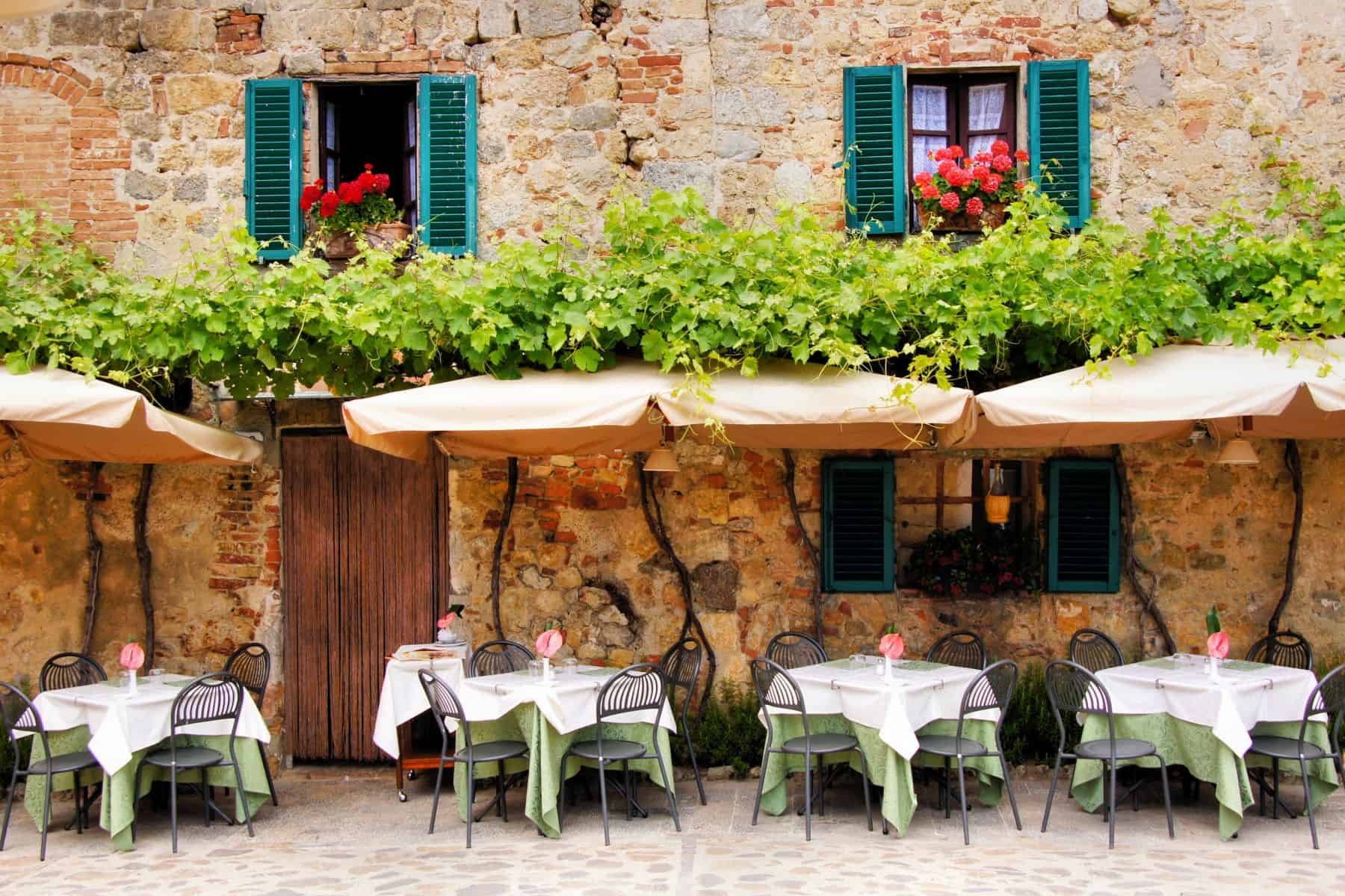 Tipuri de restaurante din Italia