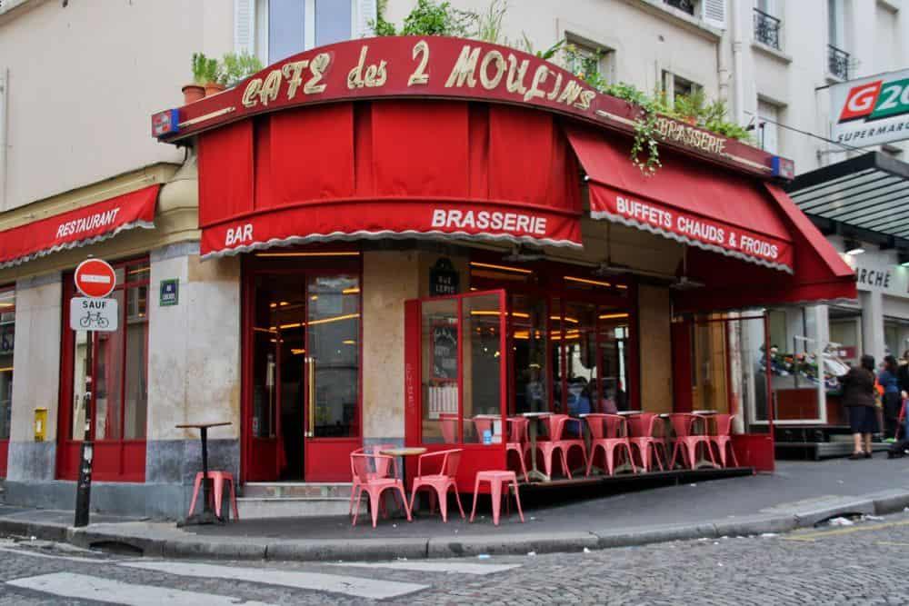 Café des Deux Moulins Parisul prin ochii lui Amelie