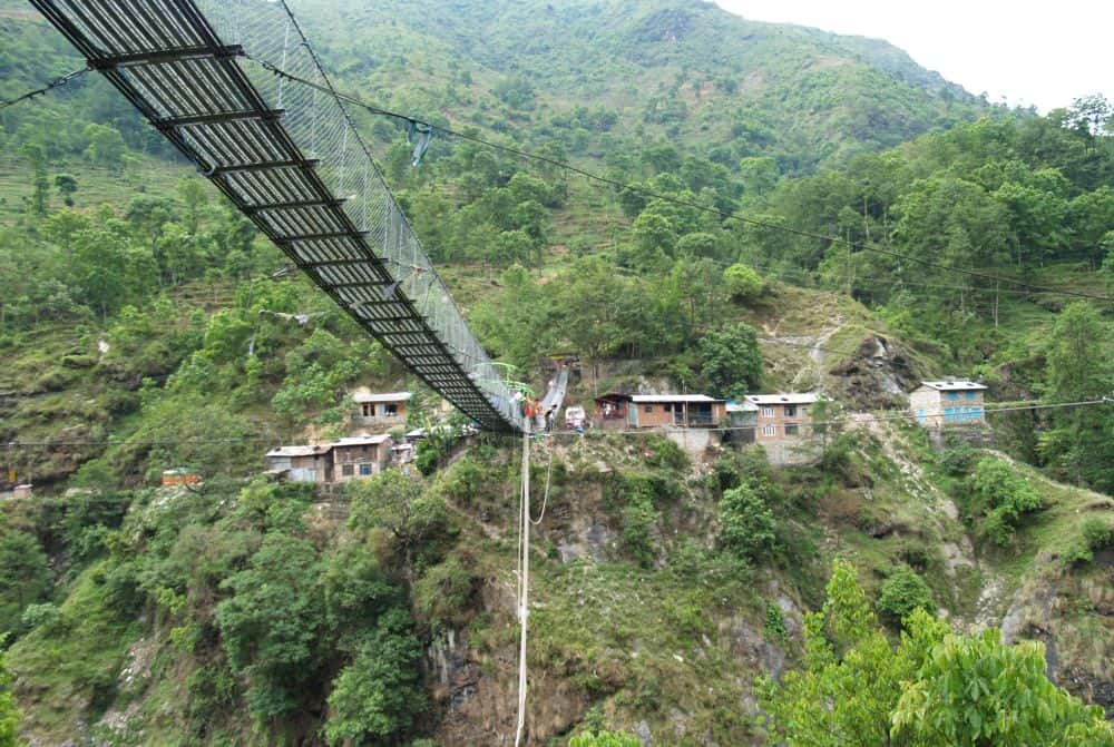 Bhote Koshi bridge