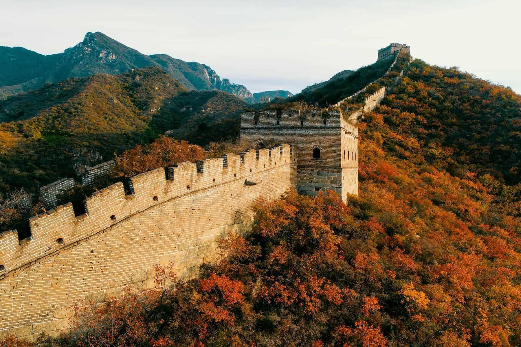 vizita la marele zid chinezesc