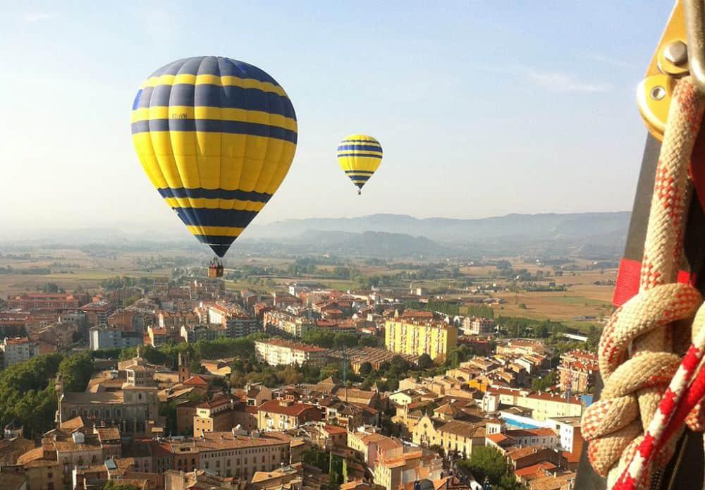 balon cu aer cald barcelona
