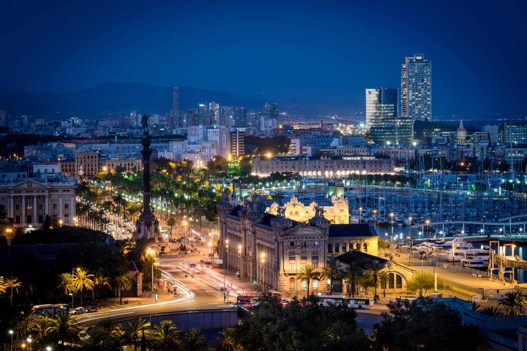 barcelona noaptea