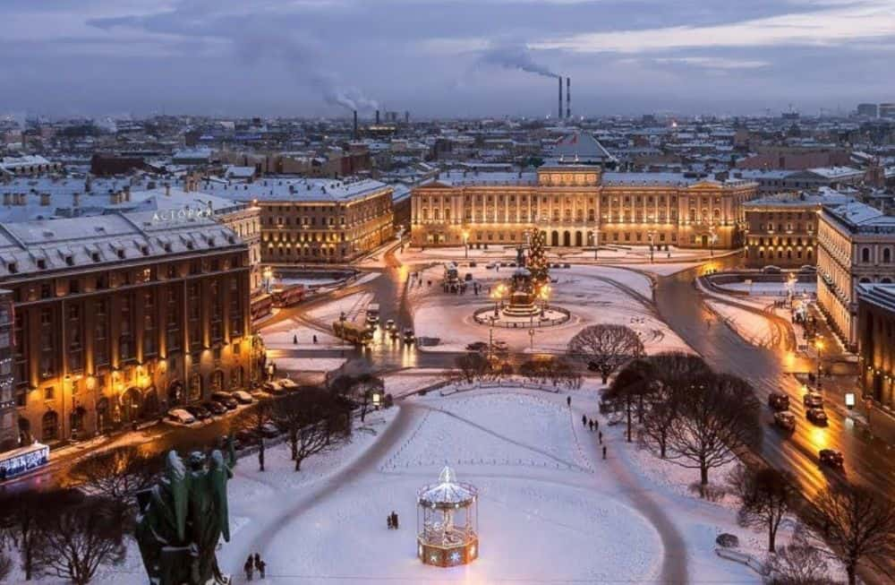 Sankt Petersburg christmas