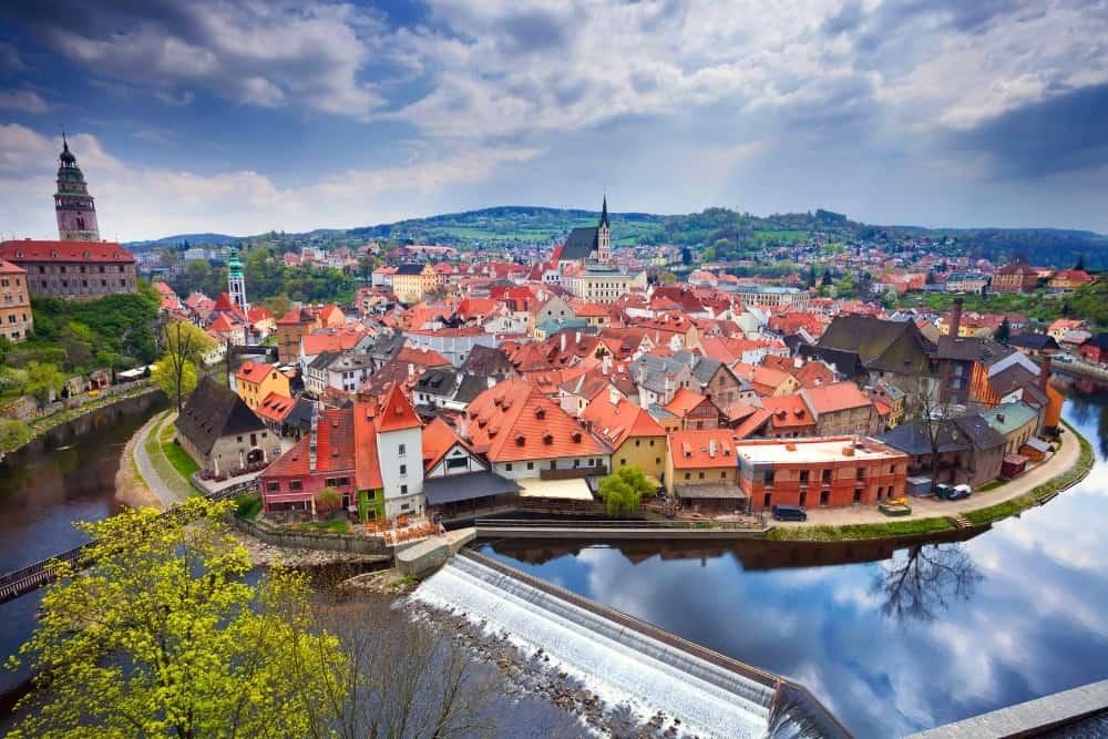 Ceský Krumlov orase europene mai putin vizitate