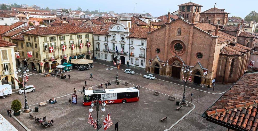 Piazza San Secondo, din Asti