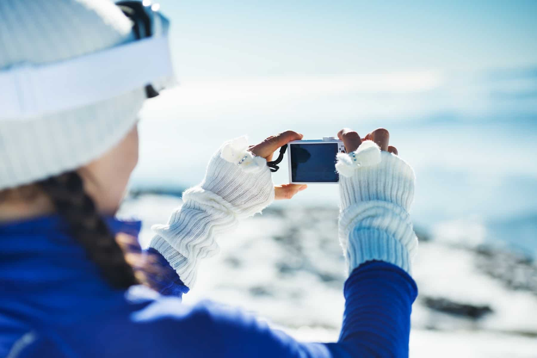 cum sa faci fotografii iarna