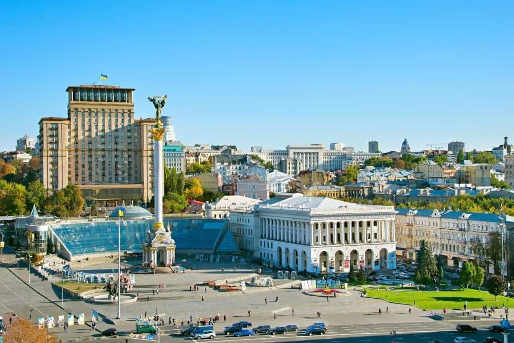 piata independentei kiev