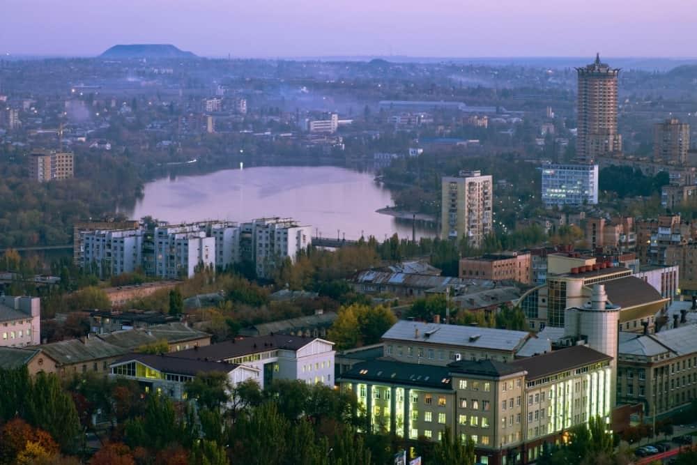 ce sa vezi in Donetsk
