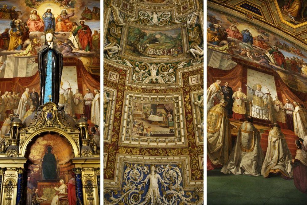 fresce vatican