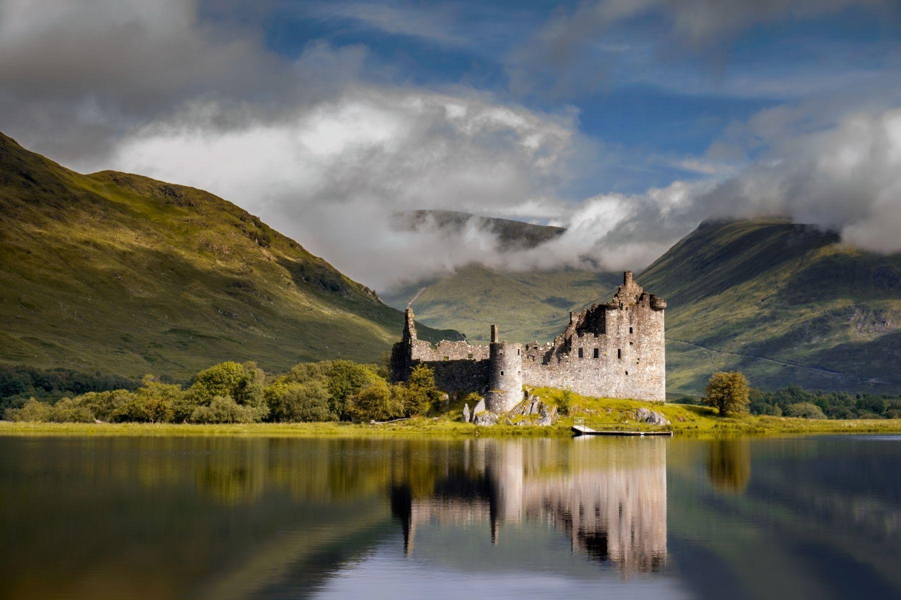 Scoția - Castelul Kilchurn