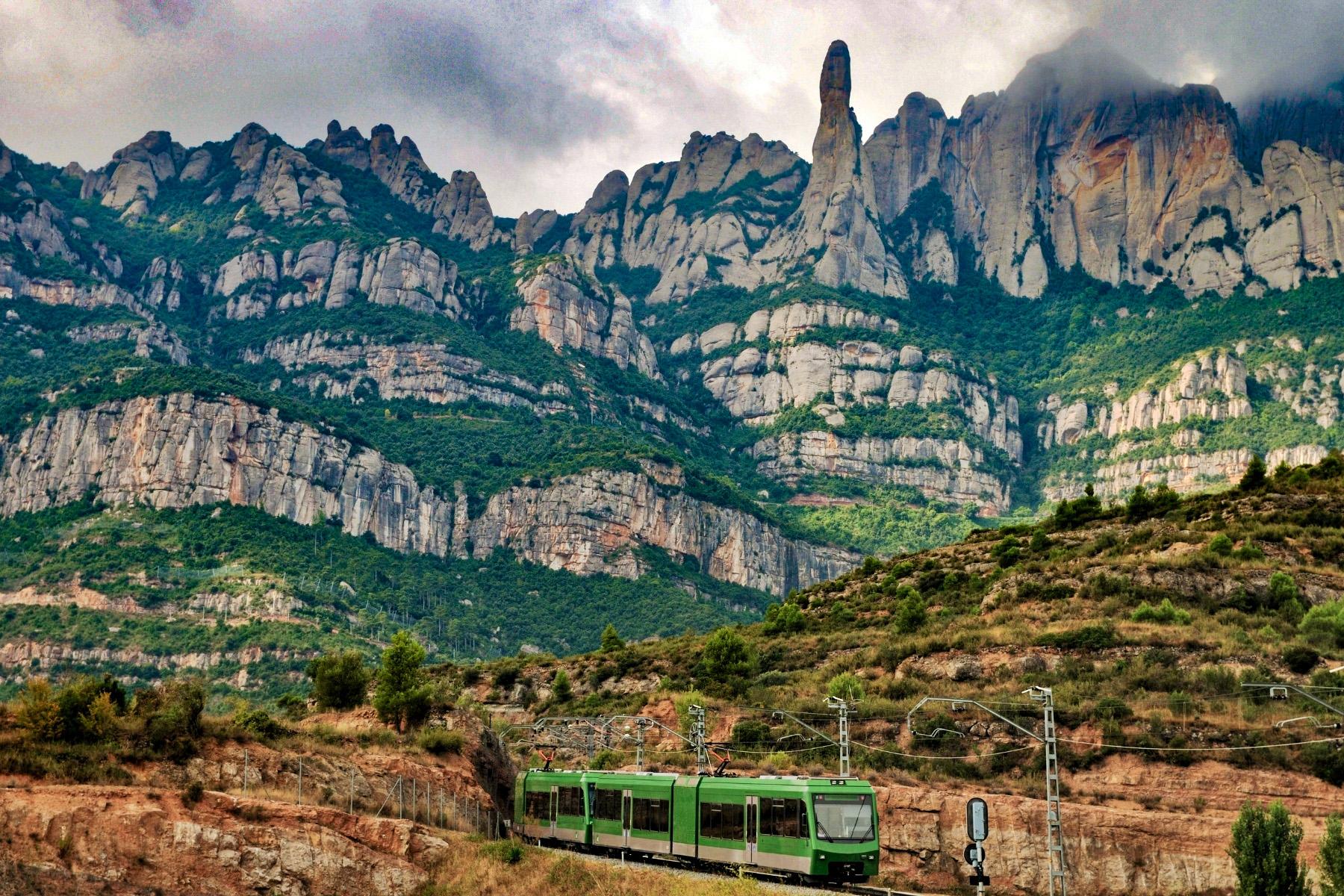 tren catalonia