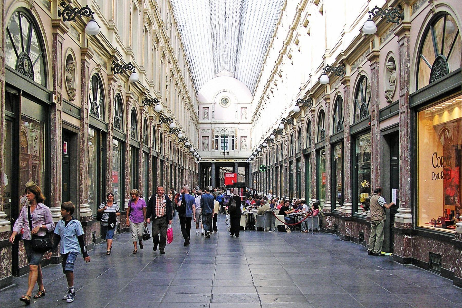 shopping bruxelles