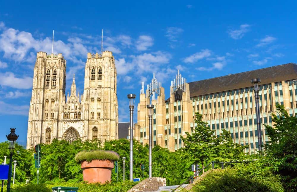 Cathedral of St. Michael and St. Gudula in Brussels