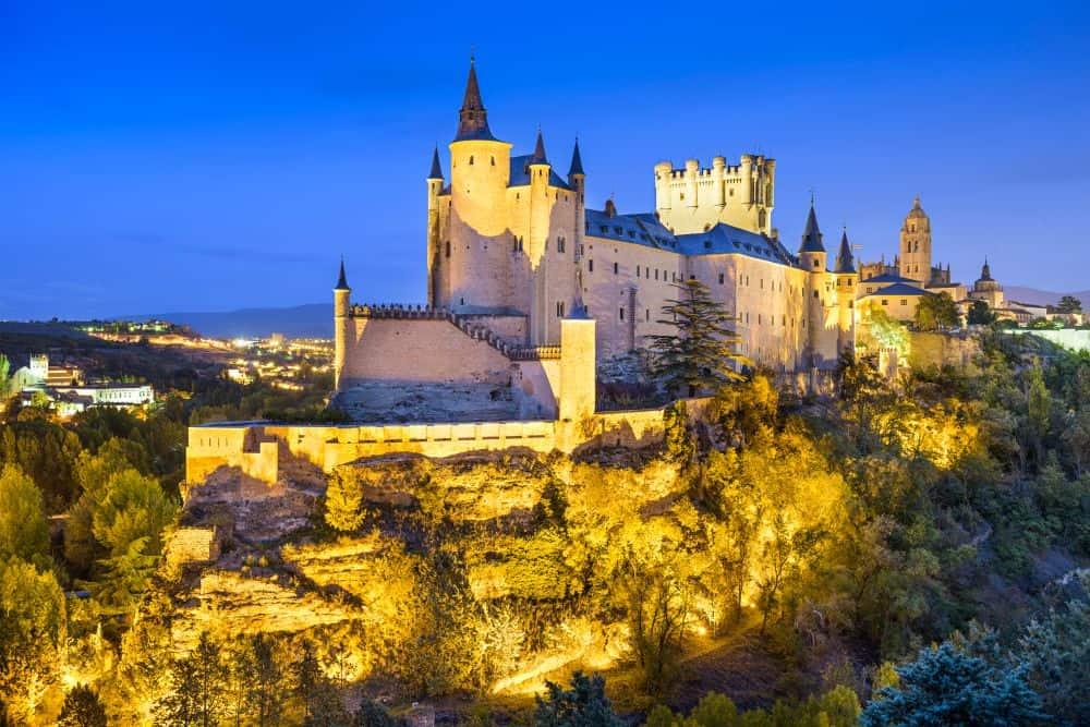 castelul din segovia