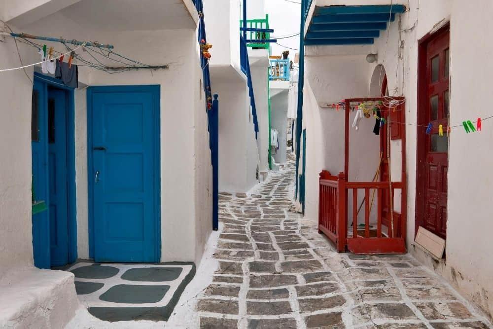 strada mykonos
