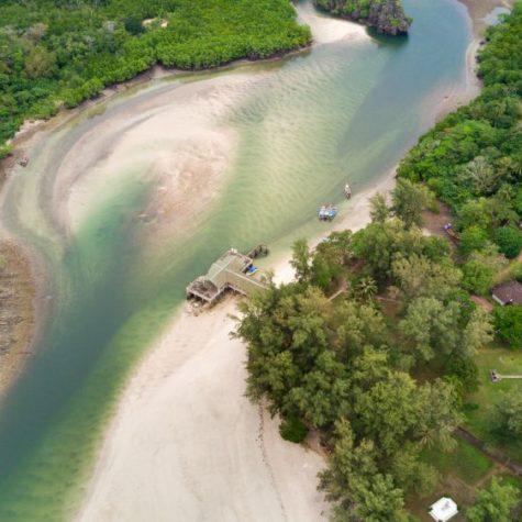 Koh Tarutao island aerial