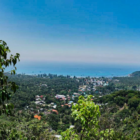 Viewpoint of Koh Tao