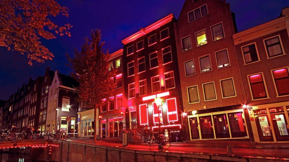 cartierul felinarelor rosii amsterdam