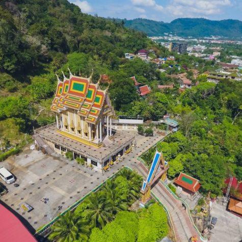 Wat Chalong Wat Chaiyathararam, Chalong, Phuket, Thailand