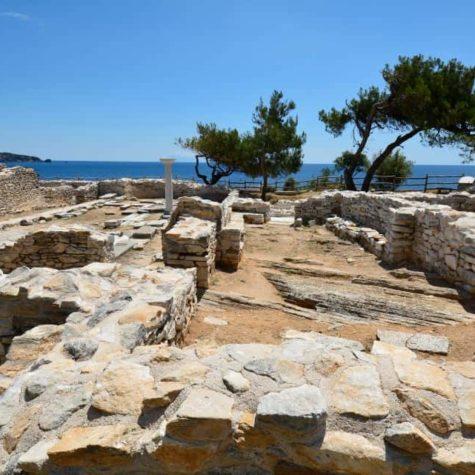 Greece, Thassos Island, Archaelogy