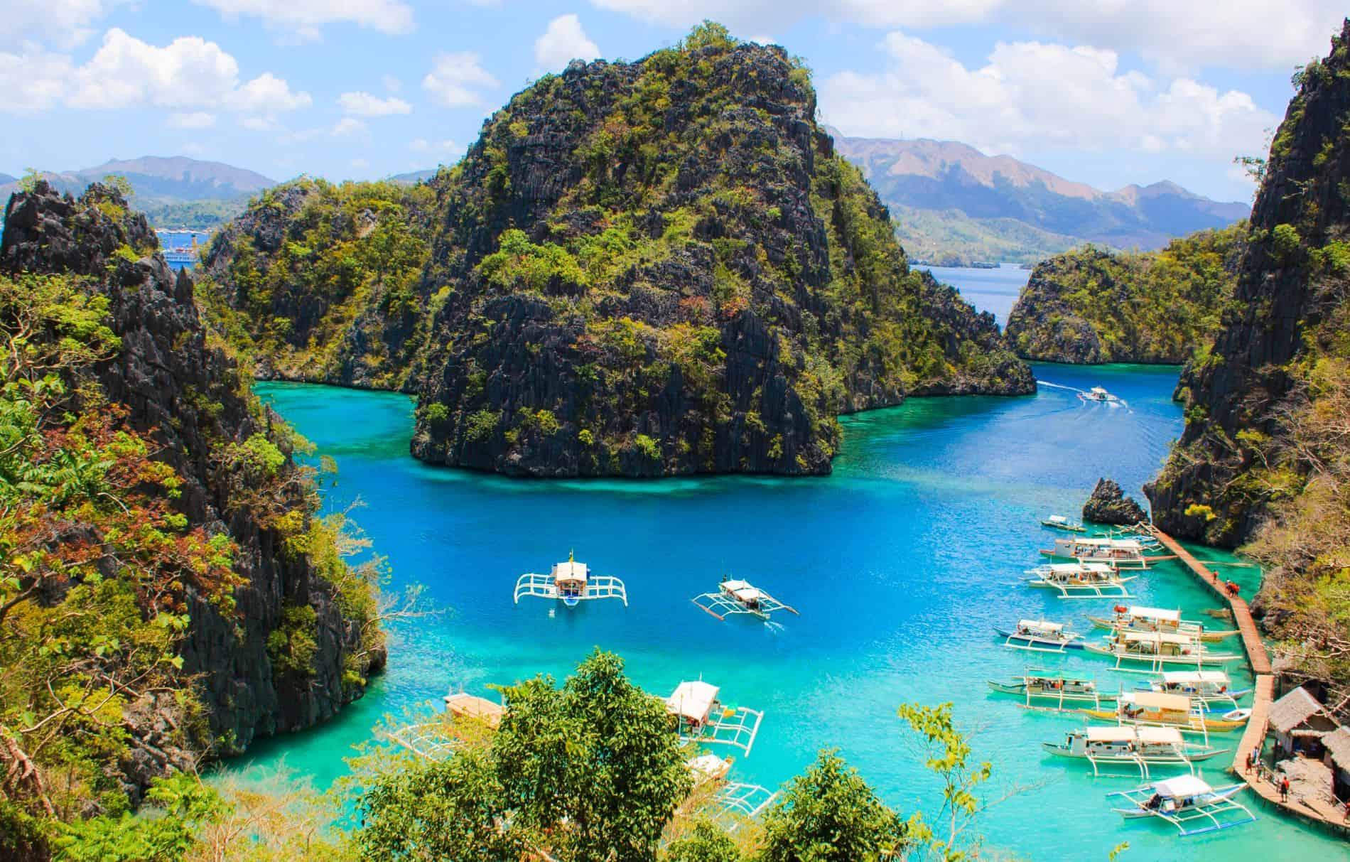 filipine coron island