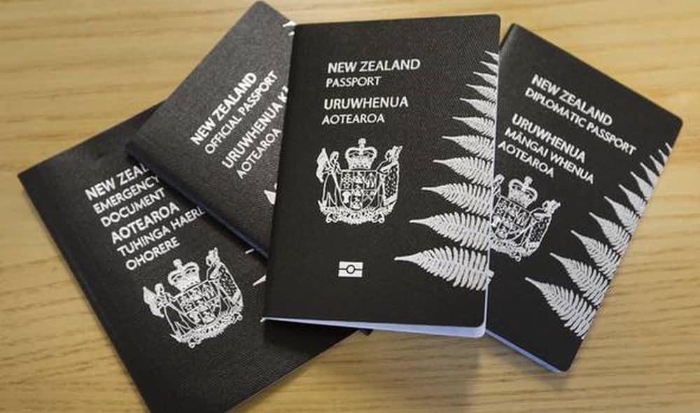 pasaport noua zeelanda