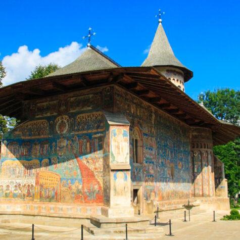 The Voronet Monastery