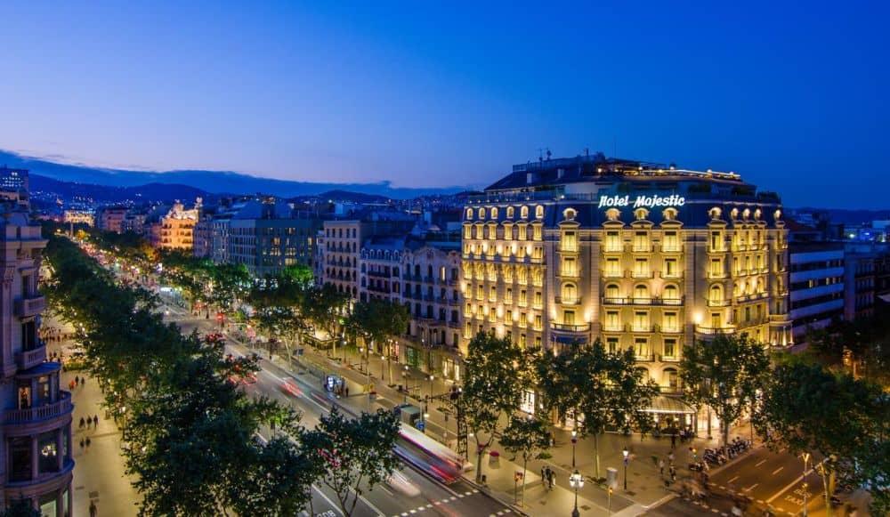 majestic Cele mai bune hoteluri din Barcelona