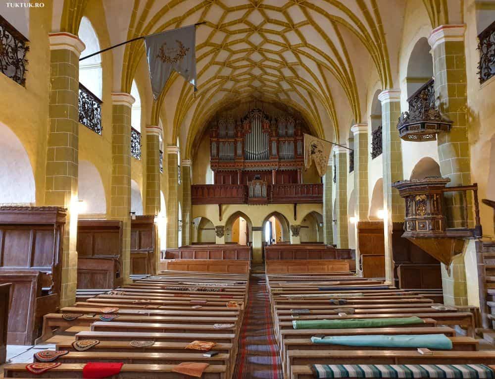 Biserica evanghelistă din Cincu