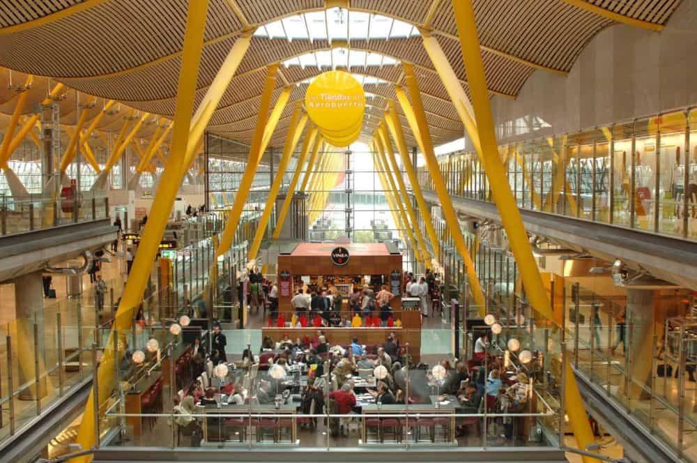 Aeroportul Barajas Madrid
