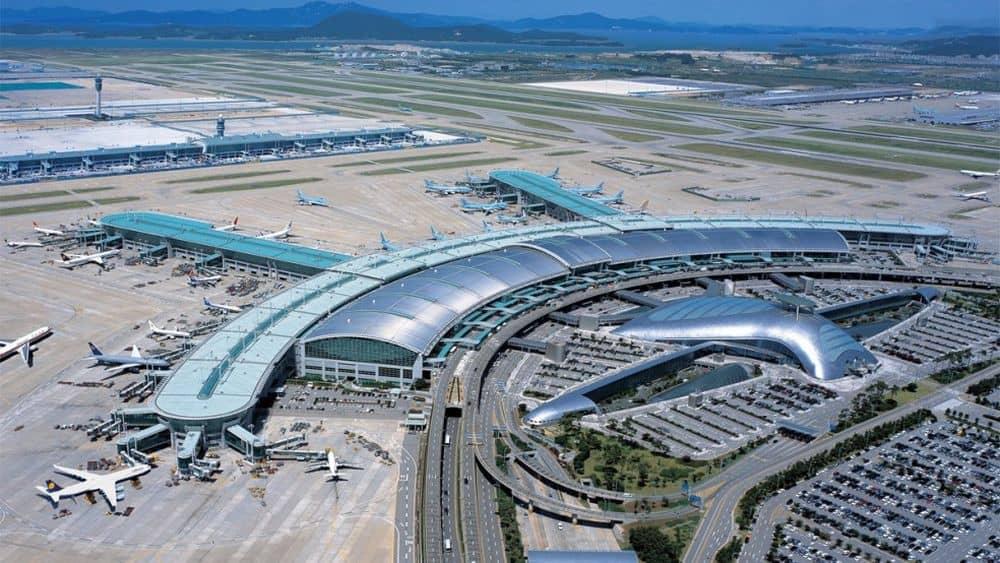 Aeroportul Incheon International, din Seul