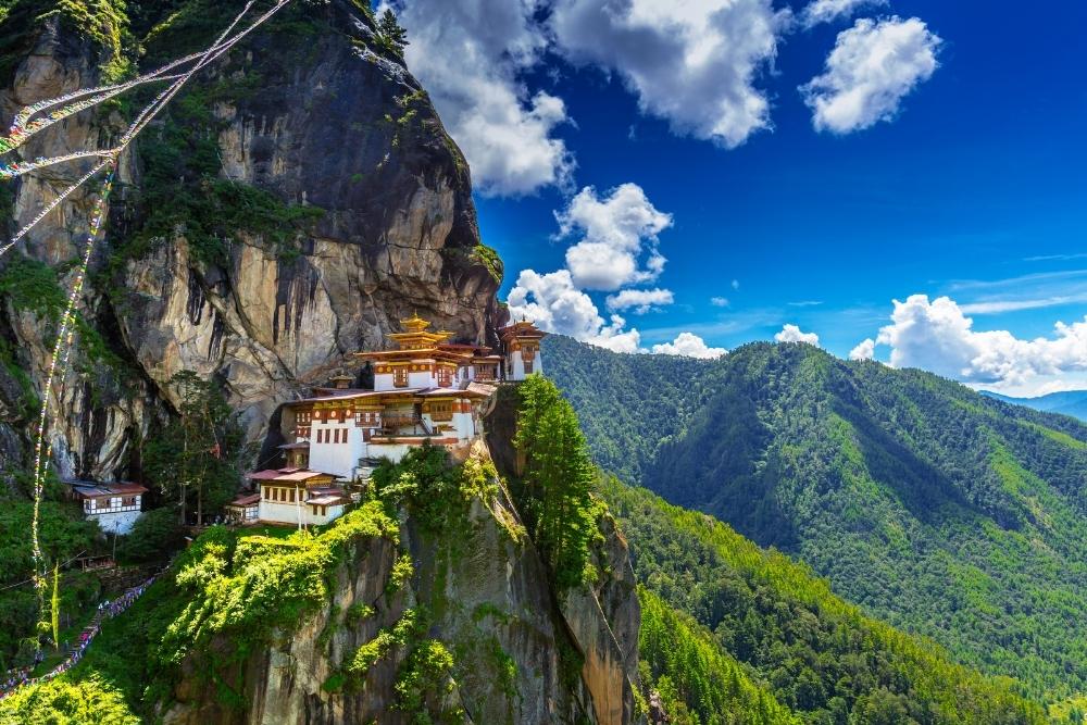 Mânăstirea Paro Taktshang din Bhutan