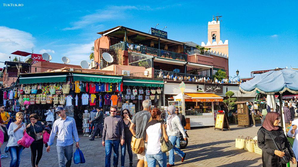 piata Djemaa El Fna