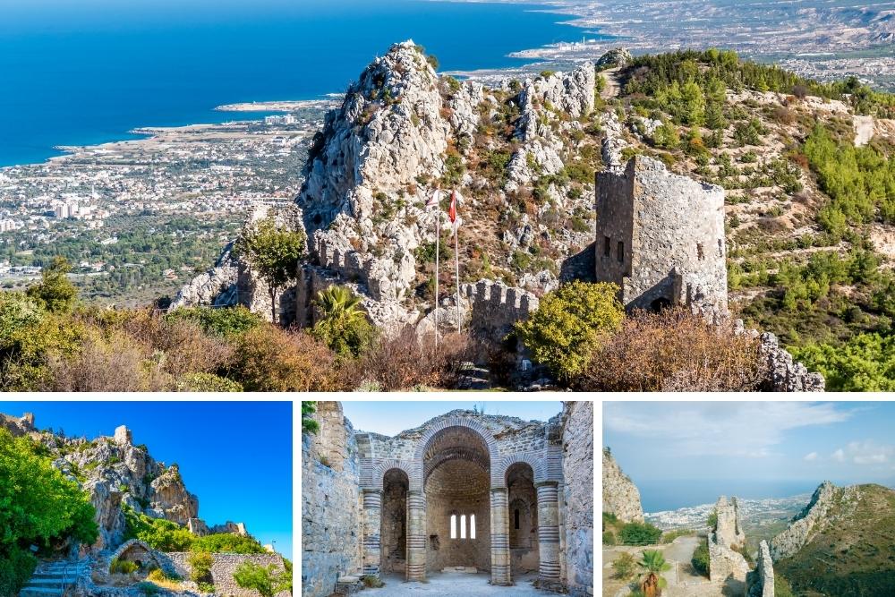 Castelul Sf Hilarion din Cipru