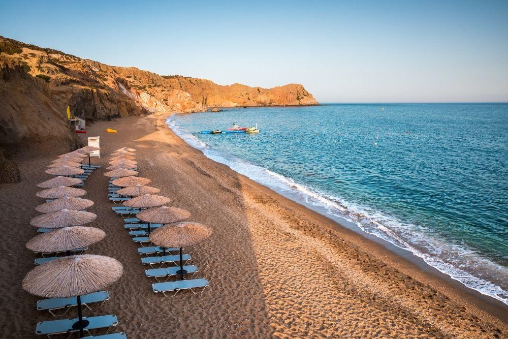 Plaja Paliochori Milos