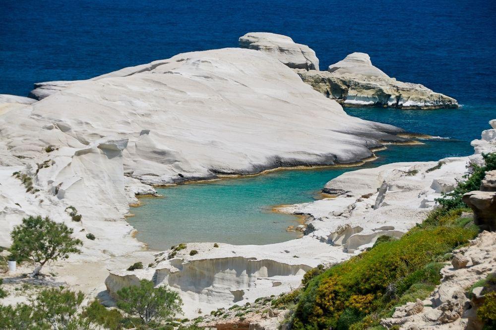 Plaja Sarakiniko Milos