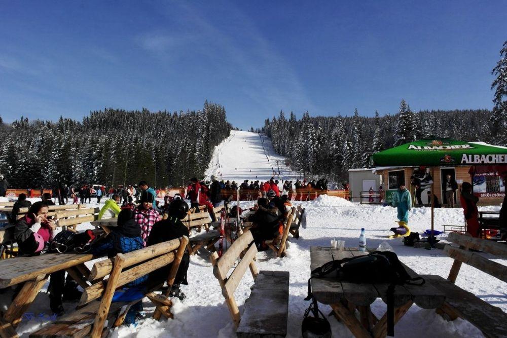 Pârtia de schi din Borsec